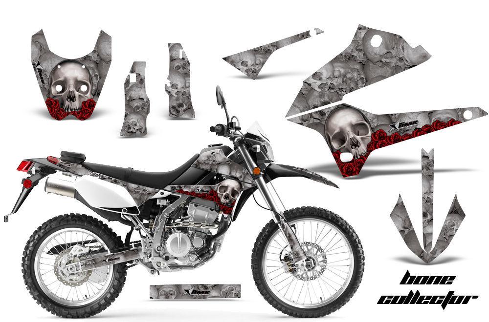 Dirt Bike Decals Graphics Kit Sticker Wrap For Kawasaki