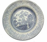 English Ironstone Tableware Old Willow Set and 50 similar ...