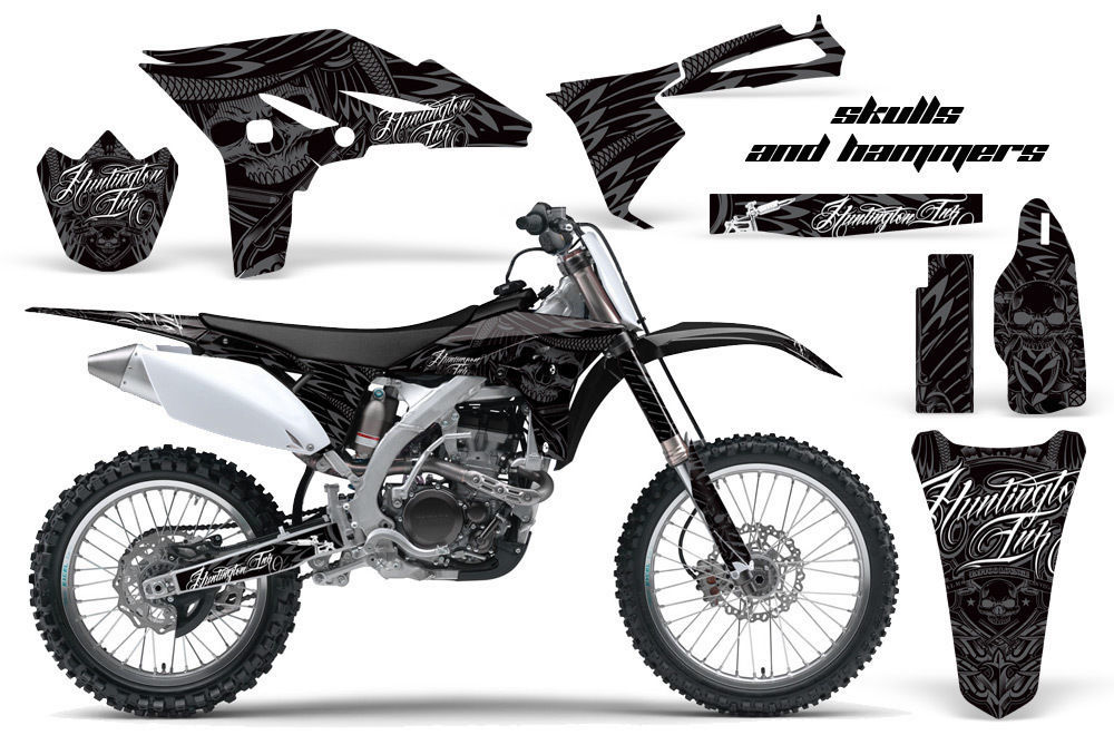 Dirt Bike Graphics Kit Decal Sticker Wrap For Yamaha