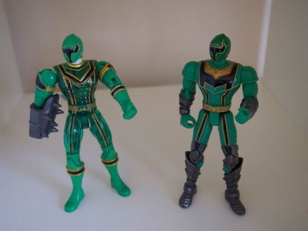 Power Rangers Mystic Force 2005 Green Bandai 5