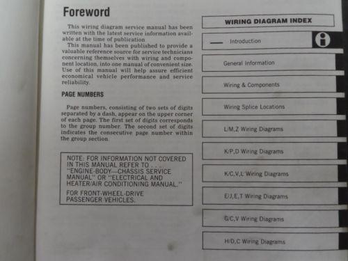 small resolution of 1985 mopar plymouth reliant service shop repair workshop manual set oem book x
