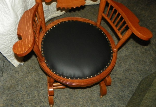 Antique Spindle Back Rocking Chair