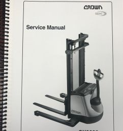 crown truck pw 3000 series operator 39 s manual pdf download there s no debate when you choose crown s xti work assist vehicle  [ 1200 x 1600 Pixel ]