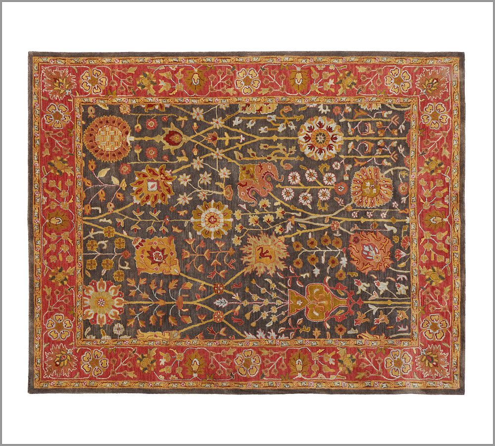 New Pottery Barn Handmade Persian ALEXANDRA Rug 8X10  Rugs  Carpets