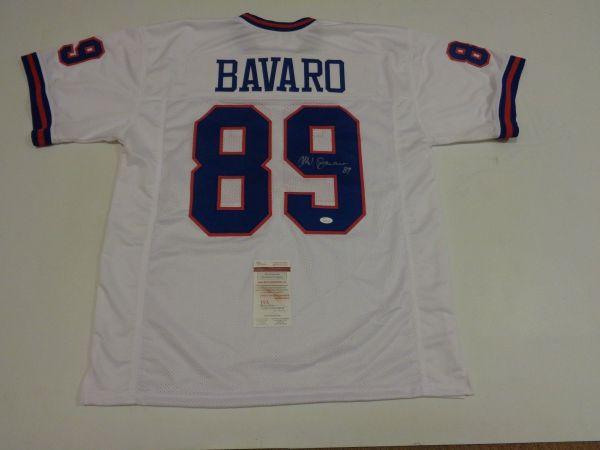 Mark Bavaro Autographed Signed Giants White Jersey Jsa