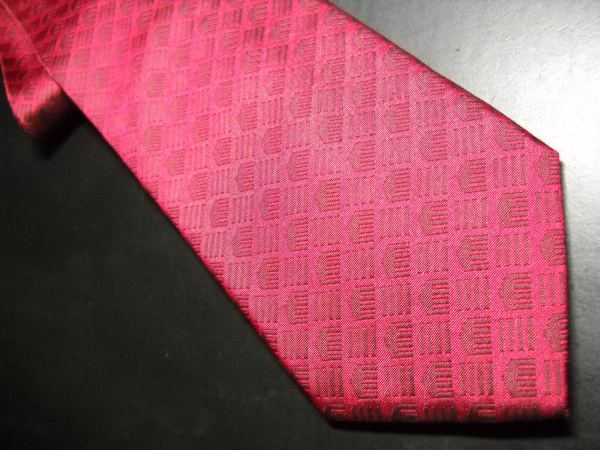 Cleveland Museum Of Art Neck Tie Bright Reds With Logos - Ties