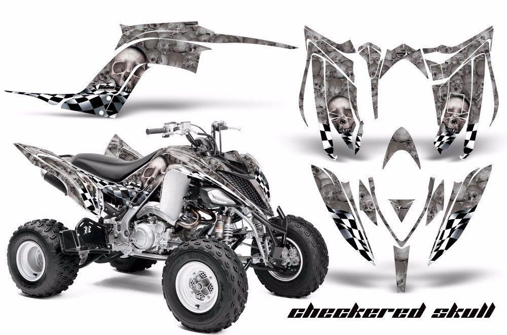 ATV Graphics Kit Decal Sticker Wrap For Yamaha Raptor 700R