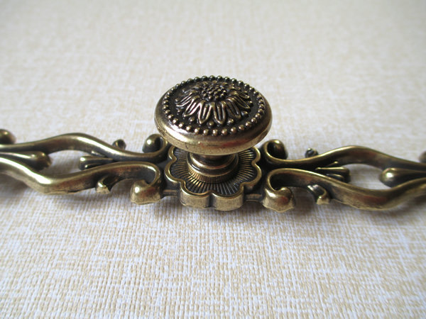 "5"" Dresser Pull Drawer Pulls Handles Antique Bronze"