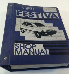 1988 ford festiva loose leaf shop manual and 50 similar items s l1600 [ 1600 x 1200 Pixel ]