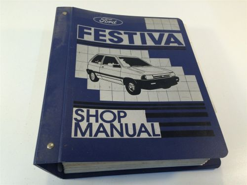 small resolution of 1988 ford festiva loose leaf shop manual and 50 similar items s l1600