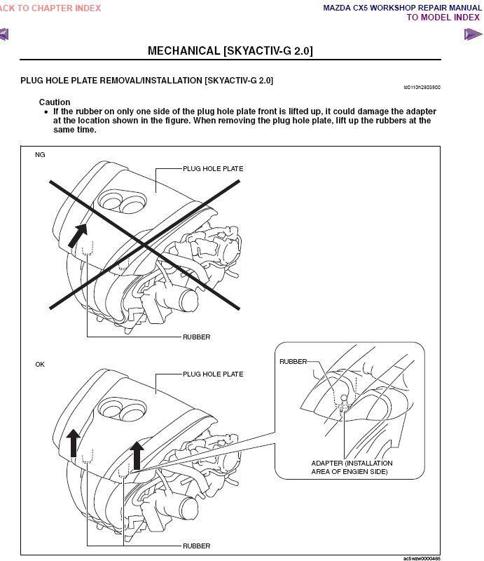 2013 Mazda CX-5 SkyActiv Gas Diesel Factory Repair Service