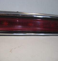 lincoln town car 1998 rear center tail light finish panel oem [ 1600 x 1200 Pixel ]