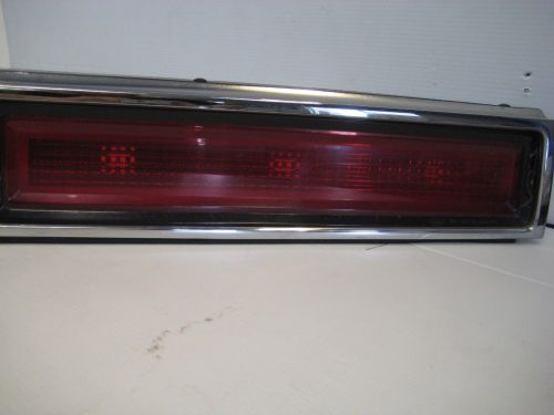 small resolution of lincoln town car 1998 rear center tail light finish panel oem