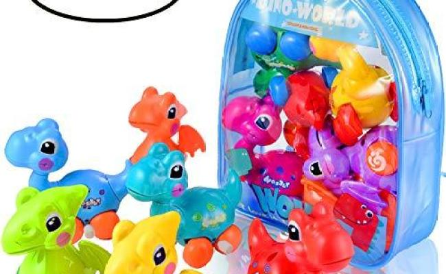 Dinosaur Toys For 3 Year Olds 6 Pack Wind Up Pull Back