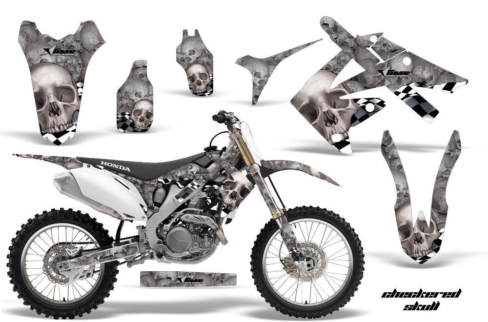 Dirt Bike Graphique Kit Décalque Autocollant pour Honda
