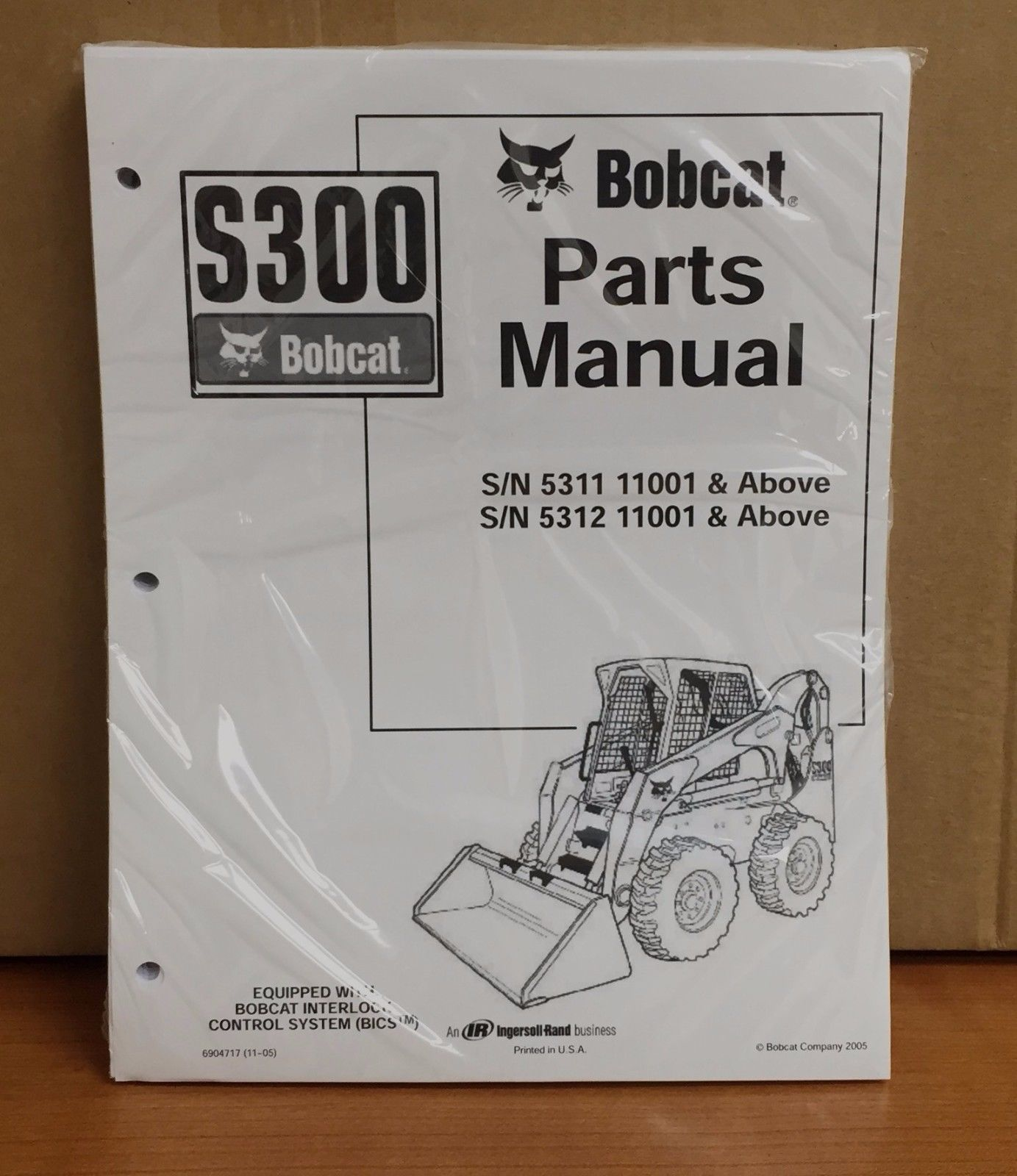hight resolution of bobcat s300 parts manual book skid steer and 50 similar items 11