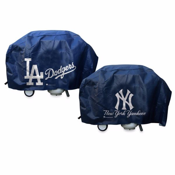 Mlb Deluxe Vinyl Padded Grill Cover Rico Industries -select- Team - Baseball-mlb