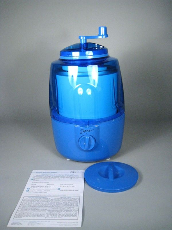 Deni 5201 Fully Automatic 1 2 Quart Ice Cream Maker Blue
