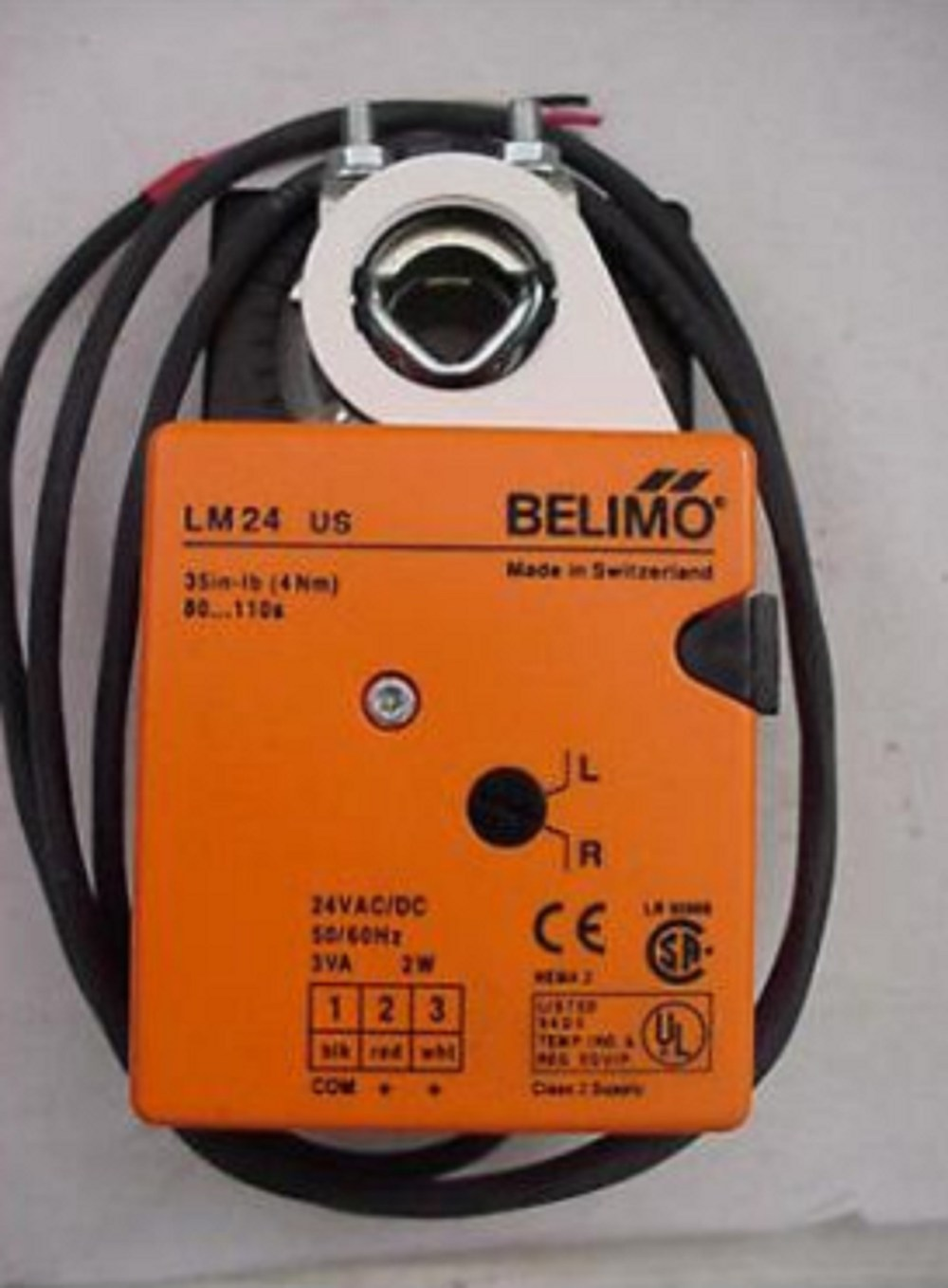medium resolution of belimo lm24 s us 24v on off floating non spring return direct coupled actuator