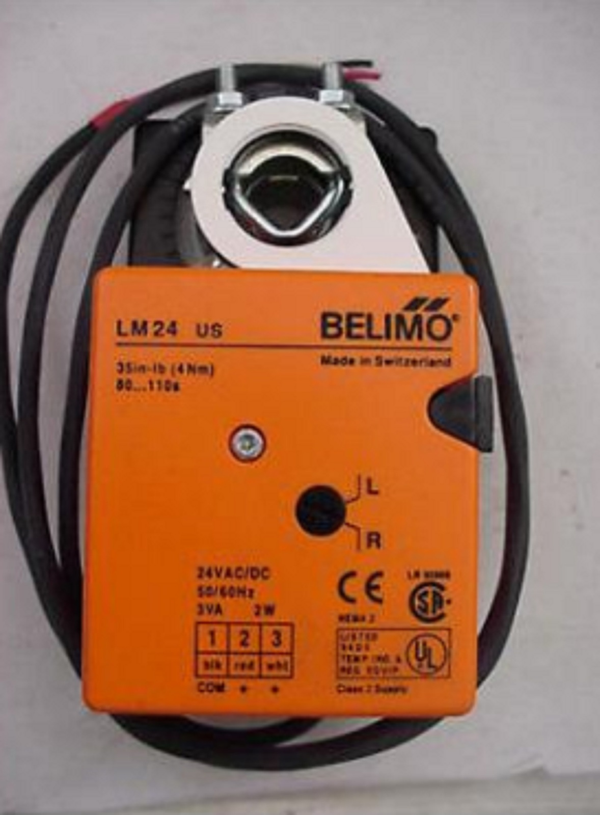 hight resolution of belimo lm24 s us 24v on off floating non spring return direct coupled actuator