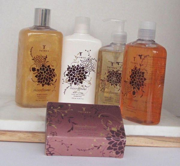 Thymes Moonflower Body Wash Lotion Bar Soap Htf Rare