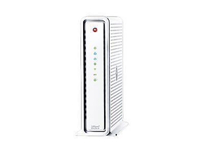 Motorola Surfboard Cable Modem, Dual Band Wi-Fi Router