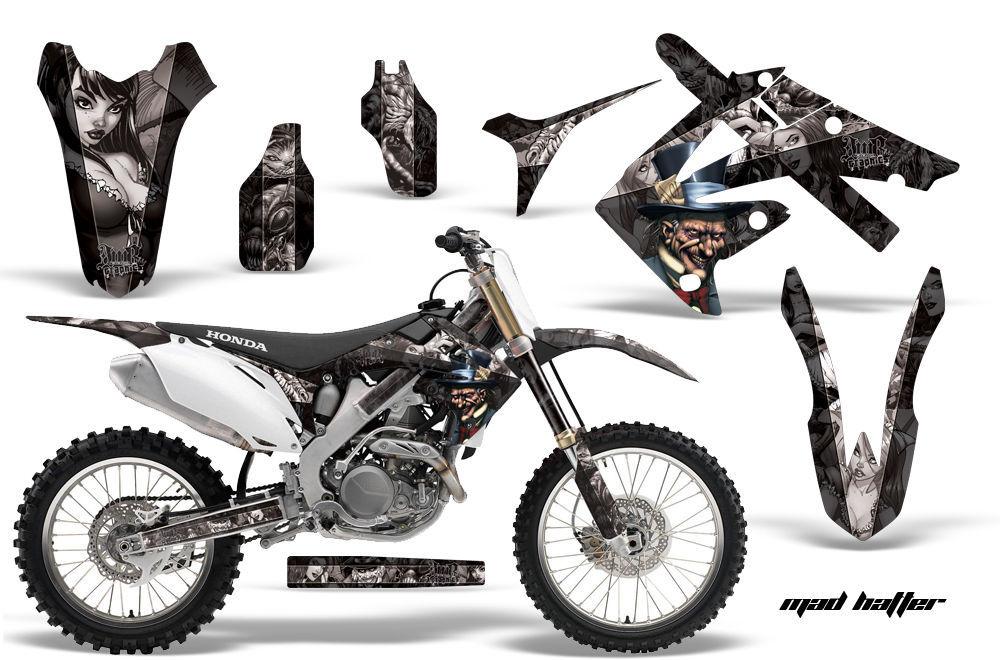 Dirt Bike Graphics Kit Decal Sticker Wrap For Honda