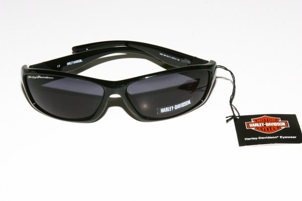 HarleyDavidson Eyewear Sunglasses Black Wraparound Glare