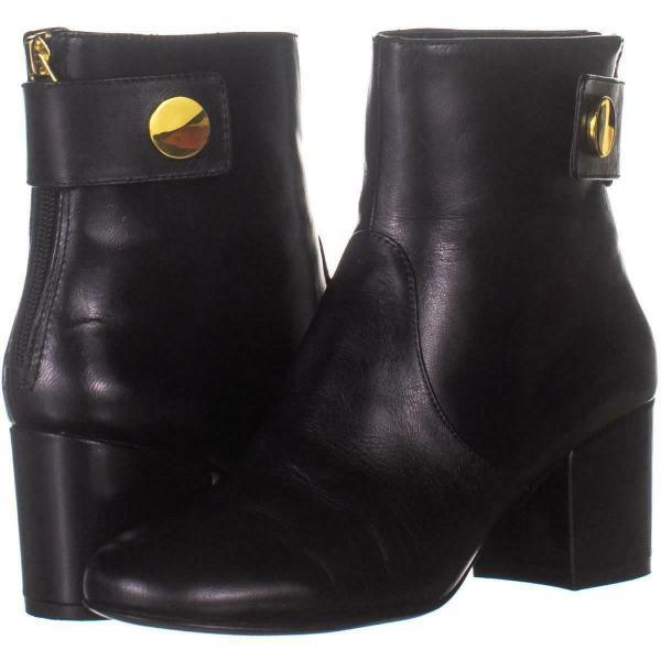 Nine West Quarryn Rear Zip Ankle Boots 673 Black 5