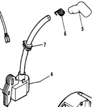 IGNITION MODULE COIL 219848 302138 MCCULLOCH TRIMMER