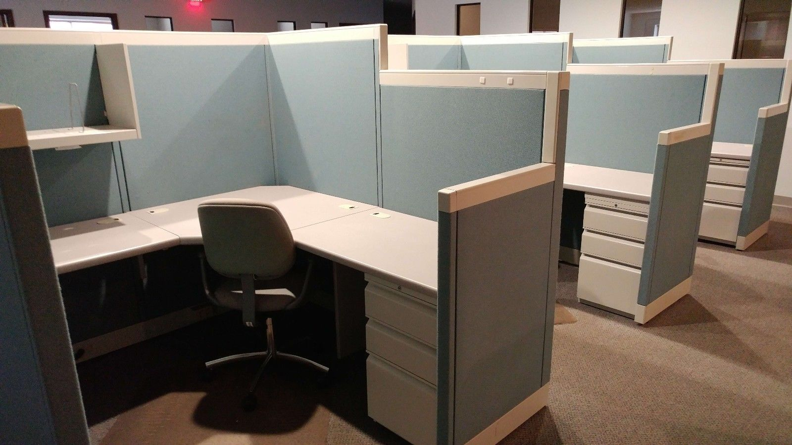 allsteel access chair instructions stack chairs for less used office cubicles concensys 6x6