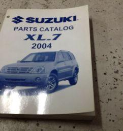 2004 suzuki xl 7 xl7 parts catalog manual and 50 similar items 57 [ 1600 x 1195 Pixel ]