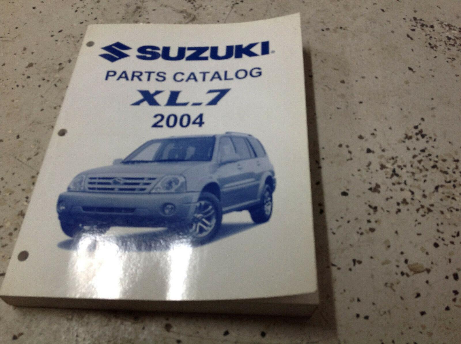 hight resolution of 2004 suzuki xl 7 xl7 parts catalog manual and 50 similar items 57