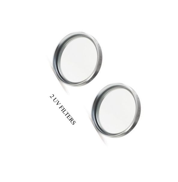 TWO 2 UV Filters for Sony DCRDVD403E DSC-SX83 HDR-CX110