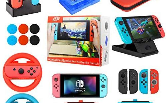 Accessories Bundle For Nintendo Switch 19 In 1 Essential