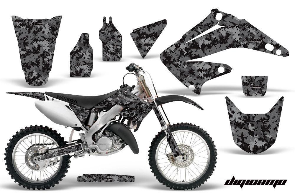 Dirt Bike Graphics Kit Decal Wrap For Honda CR125R CR250R