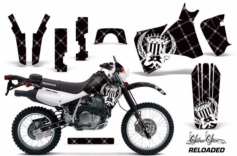 Dirt Bike Decal Graphic Kit MX Sticker Wrap For Honda