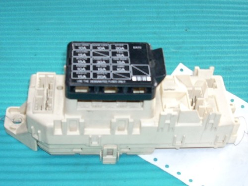 small resolution of 1994 mazda mx 3 relay junction cabin fuse box bcm oem