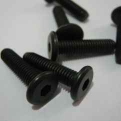 Steel Chair Joints Back Jack Floor M6x25mm Furniture Joint Connector Bolt Allen Head X