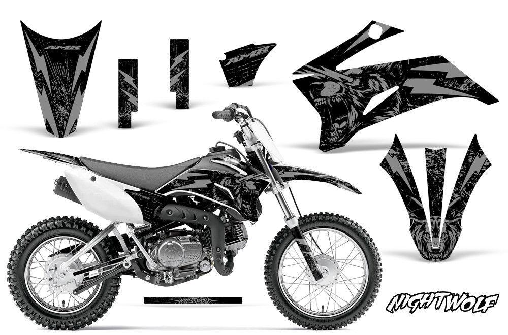 Yamaha TTR 110 Dirt Bike Graphic Sticker Kit Decal Wrap MX
