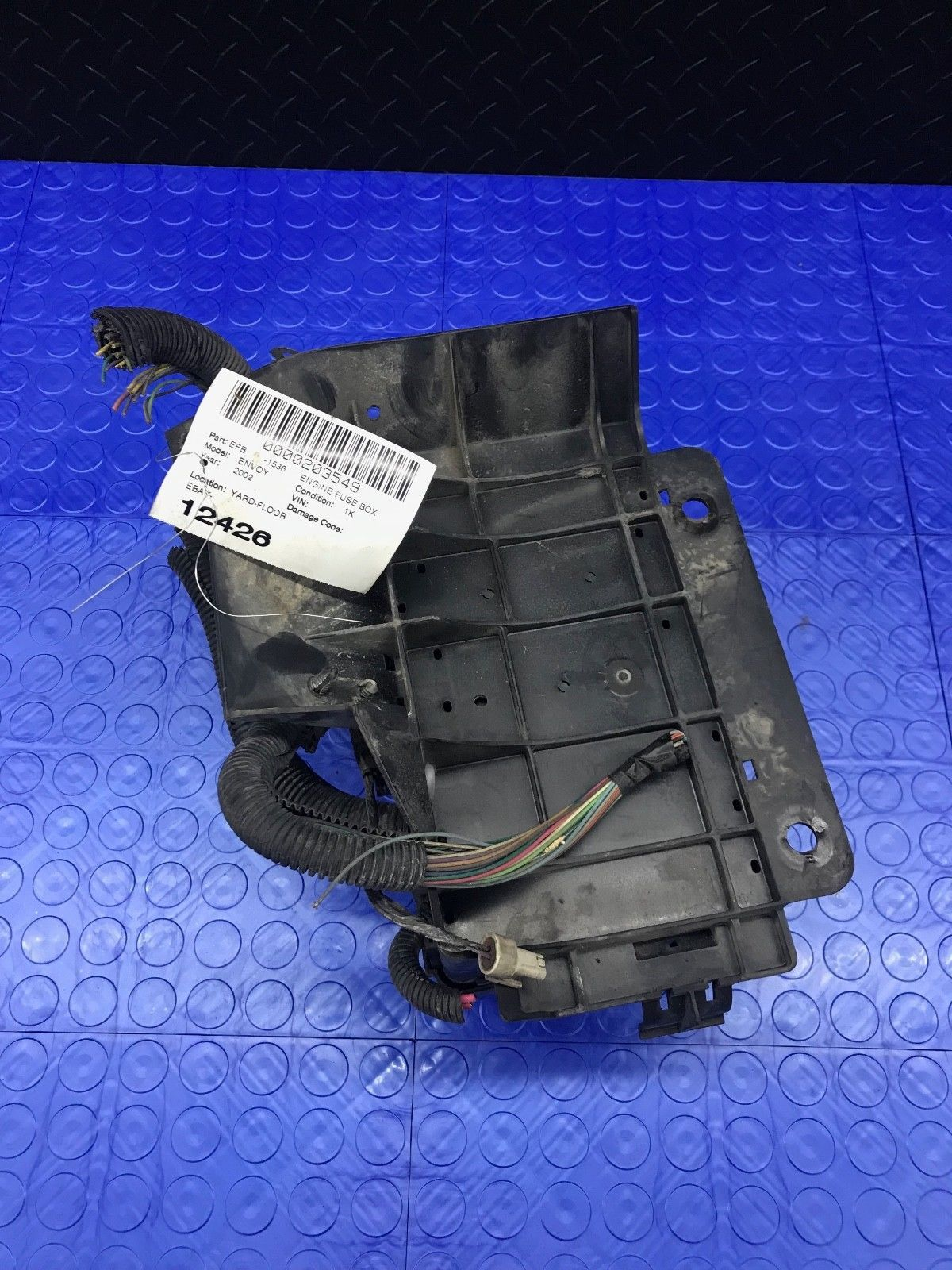 hight resolution of oe gm envoy trailblazer wire wiring junction fuse block relay panel 15356859