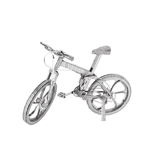 3D Metal Model Puzzles Mountain Bike DIY Laser Cut Puzzle