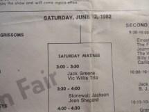 Grand Ole Opry Nashville Wsm 1974 78 80-83 Souvenir