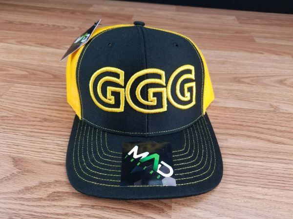 Ggg Trucker Hat Gennady Golovkin Boxing Boxer