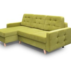 Vegas Futon Sectional Sofa Bed Queen Sleeper With Storage Holly Set