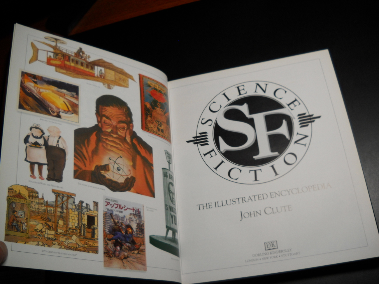 Science Fiction The Illustrated Encyclopedia John Clute