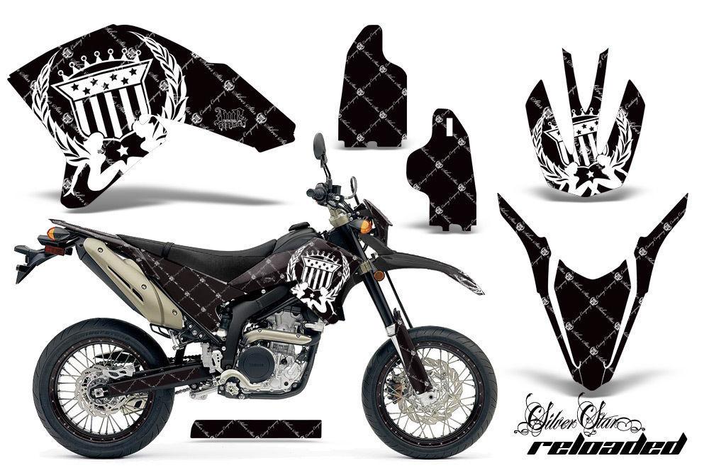 Decal Graphics Kit Wrap + # Plates For Yamaha WR250R