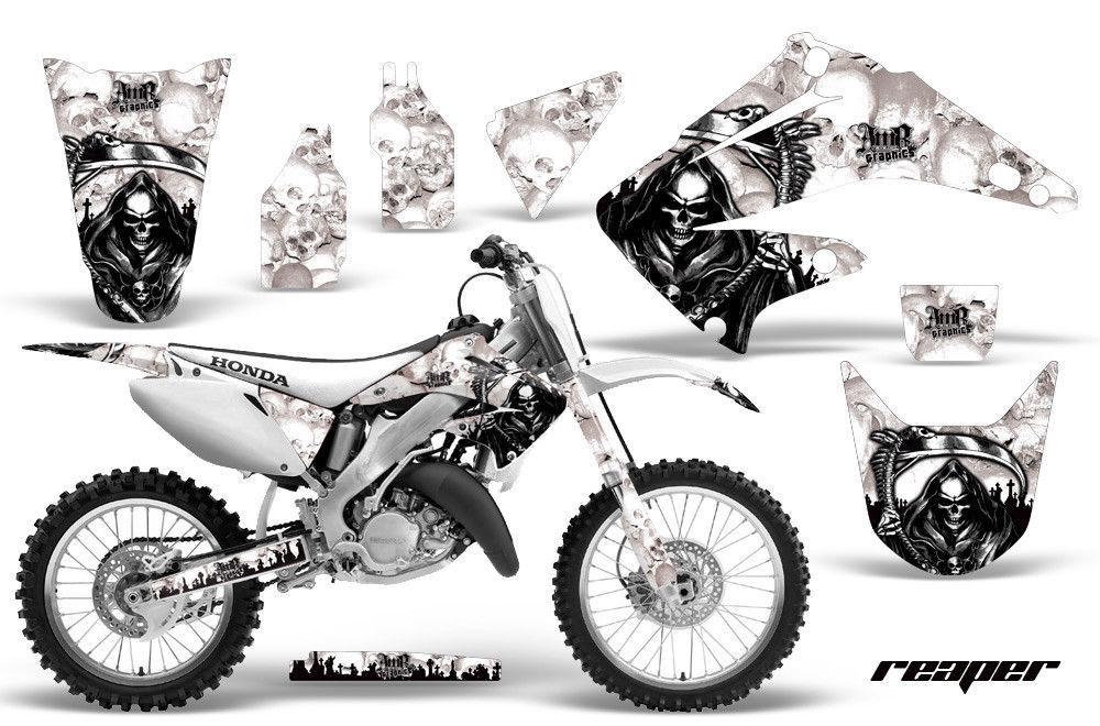 Dirt Bike Kit Graphique Décalque pour Honda Cr125r Cr250r