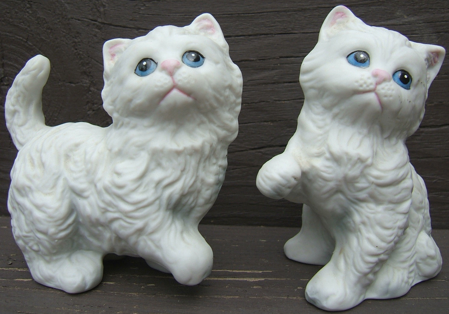 Vintage Cat Figurines Made Japan