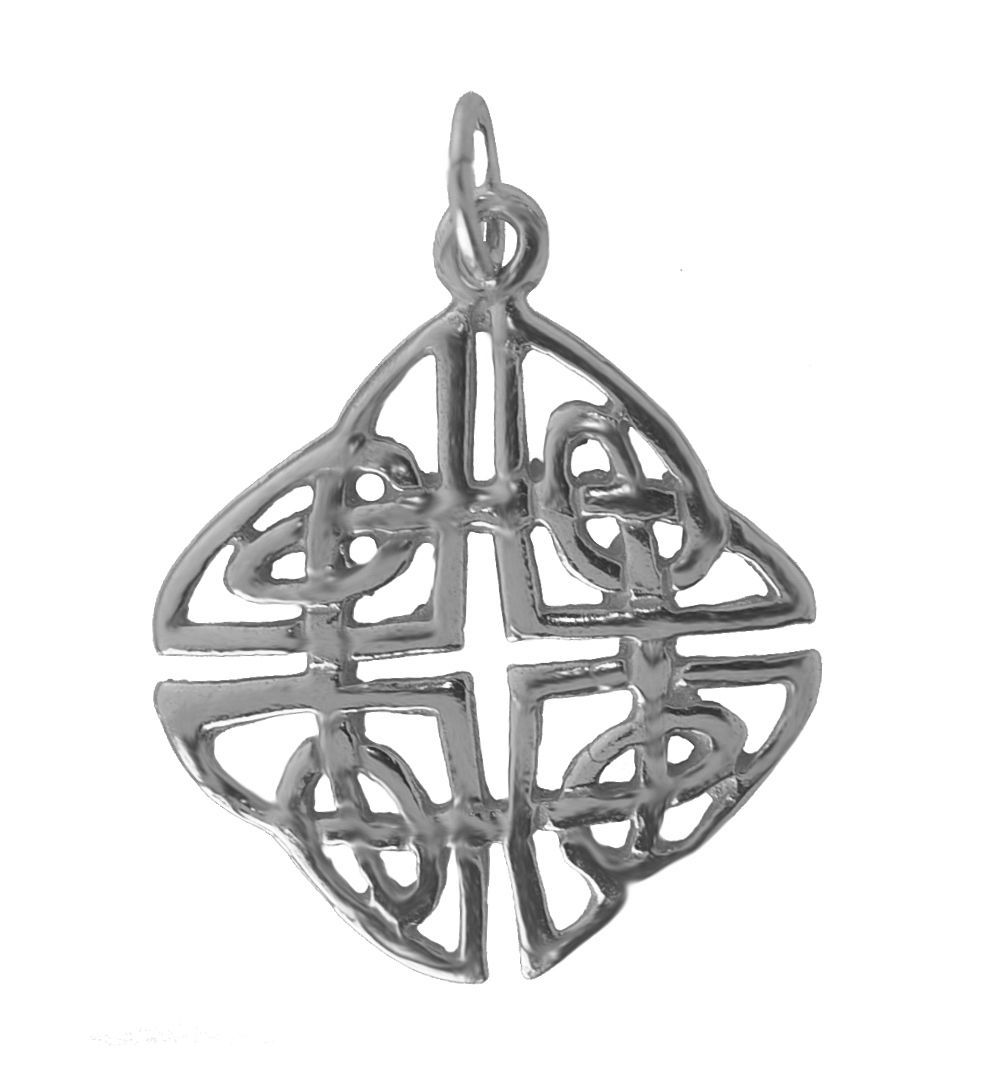 NICE New Real Genuine Sterling Silver 925 Celtic Infinity